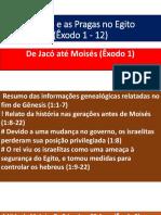 Moisés e as Pragas No Egito