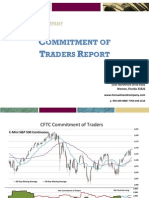 Commitment Of Traders - 9/21/10