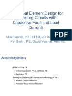 Directional Element Design for Protecting Circuits With Capacitive Fault and Load Currents