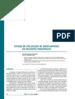 Estudo de Utilização de Medicamentos Em Pacientes Pediátricos