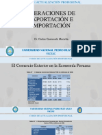 1 Diapositiva Operaciones de Exportación e Importación.