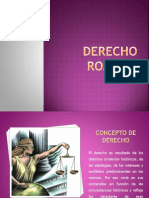 DERECHO ROMANO. Conceptos Fundamentales e Historia Parte 1 (1)