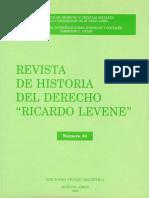 Revista historia del derecho argentina n°34