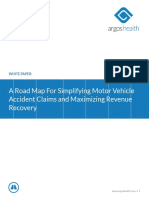 A Road Map For Simplifying Hospital Motor Vehicle Accident Claims