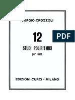 Crozzoli - 12 Studi Poliritmici