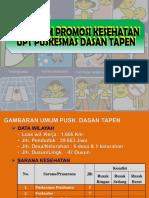 Evaluasi Program Promosi Kesehatan Per April 2016