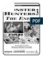 Gurps 4th - Monster Hunters 3 - The Enemy