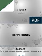 Diapositivas 2. La Materia