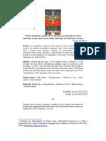 Visión absoluta y visión de lo absoluto en  Nicolás de Cusa - Clauda D'Amico