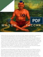 Wilson Paccha CandidaturaLOW