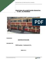 Evaluacion Estructural Colegio Elprogreso