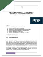 Consideraciones Avanzadas Del Protocolo de Red Distribuida 1.1