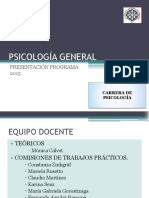 Cátedra y Programa