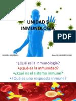 UNIDAD 5- Inmunologia