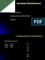 1E.- Identidades Radiotelefónicas