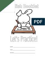 Booklet- Cuadernillo de actividades para 2do grado Inglés