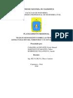 Monografía Estructuración Del Territorio