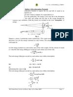 LU Sabine's Formula
