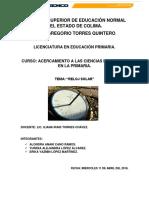 Reporte Reloj Solar Original