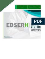 Edital Verticalizado - Ebserh - Conhecimentos Básicos Para Todos Os Cargos