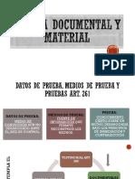 Prueba Documental y Material