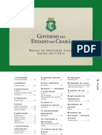 Manual de Identidade Visual Governo Do Estado Ce Tr