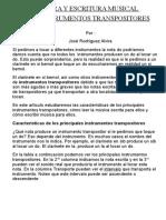 Lectura y escritura musical para instrumentos transpositores.doc