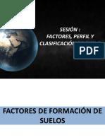 Factores,Perfil y Clasificación Suelo