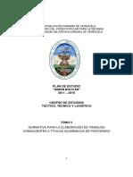 CETTL - Tomo v (Normativa Para La Elaboración de Trabajos Conducentes a Titulos de Postgrado