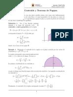 Apunte Centroide y Teorema de Pappus