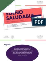 Sueño Saludable Junio 016 Plabtillas PRONABET