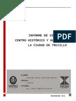 informe Centro Histórico de Trujillo