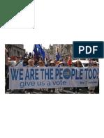 We Must Not Be Disenfranchised Again
