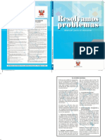Resolvamos Problemas 3 Manual Para El Docente 2018