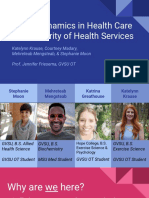 mlkj  power dynamics in health care and disparity of health services