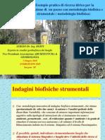 Presentazione-Esempio Pratico Di Ricerca Idrica Per La Perforazione Di Un Pozzo Con Metodologia Biofisica e Strum en Tale (Metodologia Biofisica