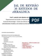 Material de Revisão Para Os Estudos de Heraldica