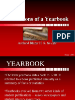 5 Functions of a Yearbook