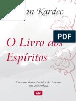 O Livro Dos Espiritos - Download
