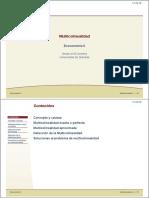 Diapositivas Multicolinealidad - Universidad de Navarra