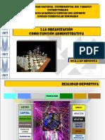 La Organizacion Como Fase Del Proceso Administrativo