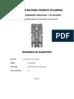Monografia de Algoritmo