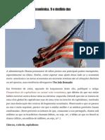 [2010.08.26] Ainda Acerca Da Crise Económica. 1) o Declínio Dos Estados Unidos