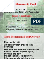 Experiences of the World Monuments Fund in Balancing Interpretation with Preservation Presentation