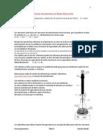 Permanganimetría TITULACIÓN REDOX CON OXALATO DE SODIO