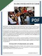 La Fiesta Andina Del Inti Raymi en Ecuador