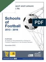 2013 School of Football Proposal