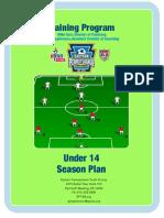 U14 Season Plan