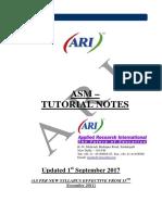 Asm Ari Notes Printable