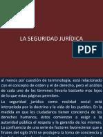 La Seguridad Jurídica Perú